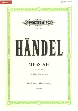 Georg Friedrich Händel: Messiah [Der Messias] HWV 56 (1741)