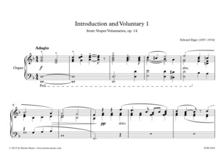 Edward Elgar: Introduction and Voluntary 1
