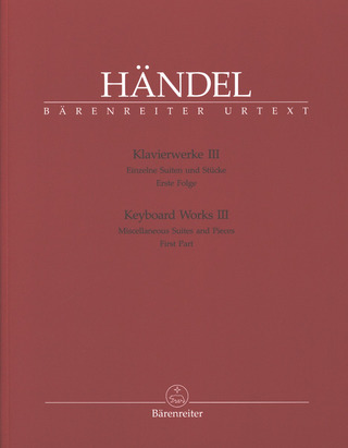 George Frideric Handel: Keyboard Works 3