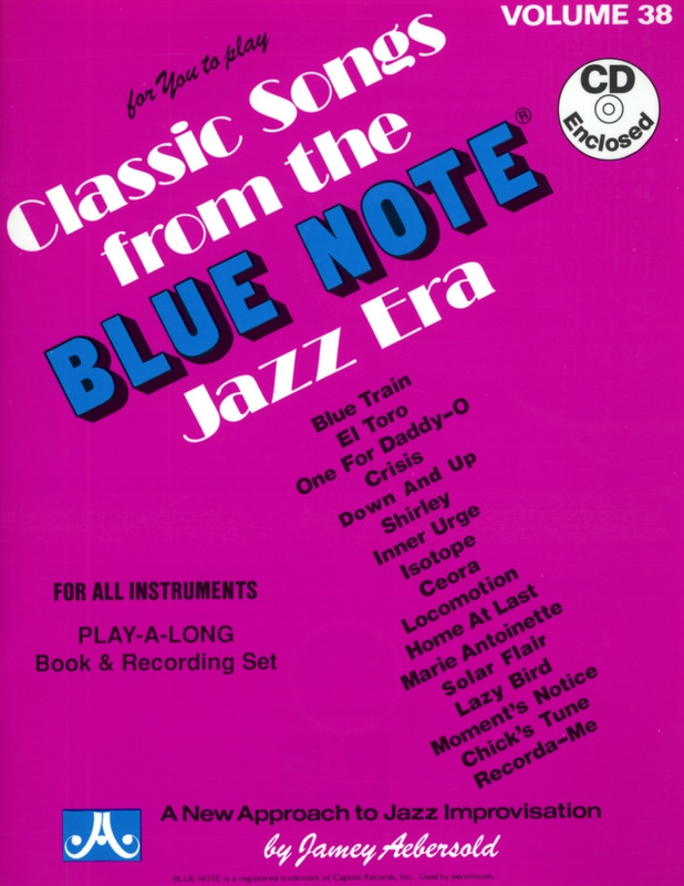 Jamey Aebersold: Classic Songs from the Blue Note Jazz Era