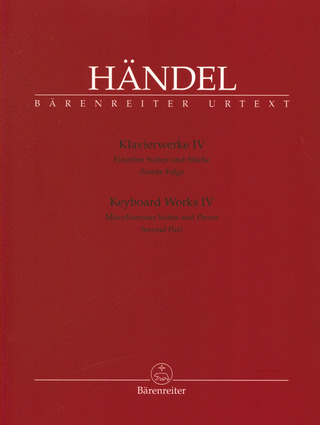 George Frideric Handel: Keyboard Works 4
