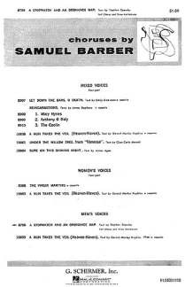 Samuel Barber: A Stopwatch and An Ordnance Map