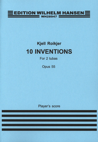 Roikjer Kjell: 10 Inventions For Two Tubas Op 55