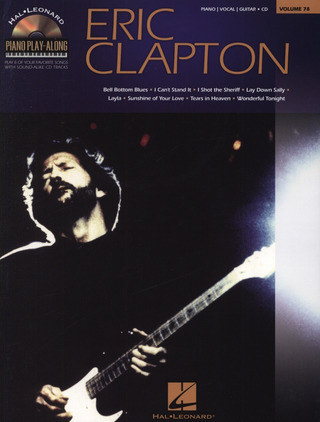 Eric Clapton: Piano Play-Along Volume 78: Eric Clapton