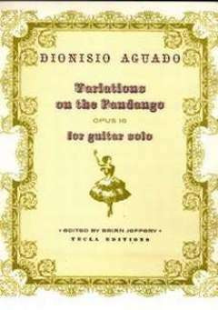 Dionisio Aguado: Variations On The Fandango Op 16