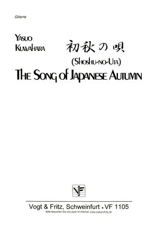 Kuwahara Yasuo: Song Of Japanese Autumn