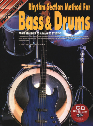 Craig Lauritsen y otros.: Rhythm Section Method for Bass & Drums
