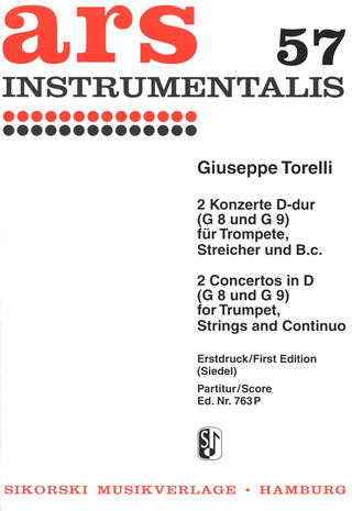 Giuseppe Torelli: Two Concertos in D major