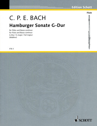 Carl Philipp Emanuel Bach: Hamburger Sonate  G-Dur Wq 133