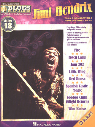 Jimi Hendrix: Blues Play-Along Vol. 18: Jimi Hendrix