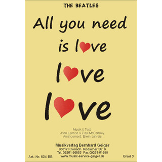 The Beatles: All you need is love
