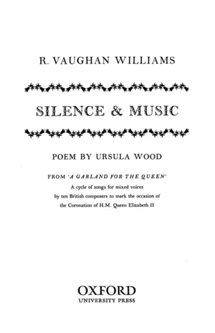 Ralph Vaughan Williams: Silence And Music