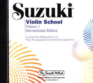 Shin'ichi Suzuki: Suzuki Violin School, Volume 1 - Performance/Accompaniment CD