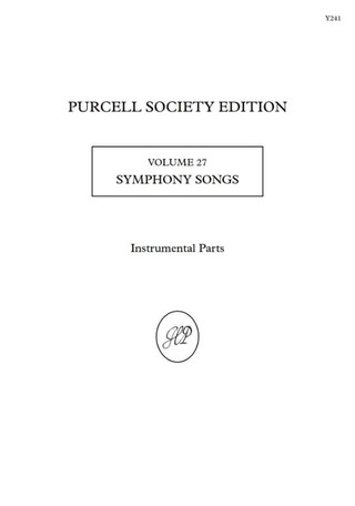 Henry Purcell: Symphony Songs