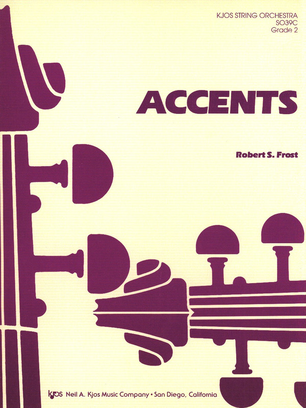 Robert S. Frost: Accents
