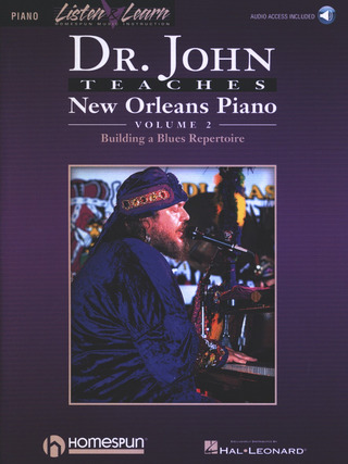 John Dr: Teaches New Orleans Piano 2