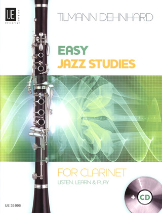 Tilmann Dehnhard: Easy Jazz Studies for Clarinet