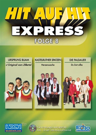 Hit auf Hit Express 08 NOTEN + CD