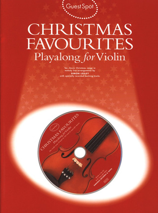 Guest Spot Christmas Favourites Playalong For Violin Bk/Cd