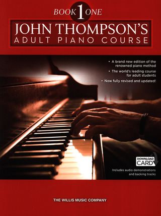 John Thompson: Adult Piano Course Book 1 Pf Book & Download Card