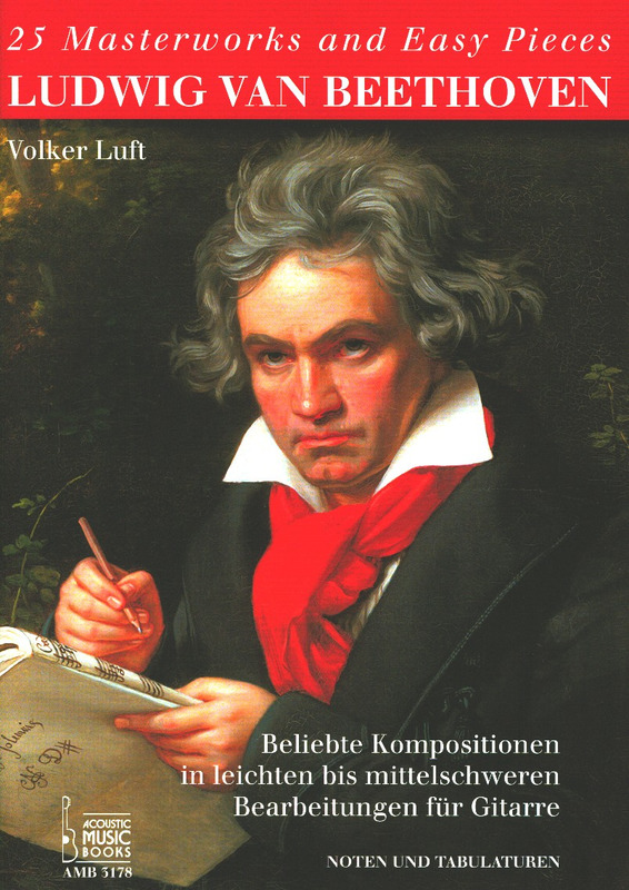 Ludwig van Beethoven: 25 Masterworks and Easy Pieces