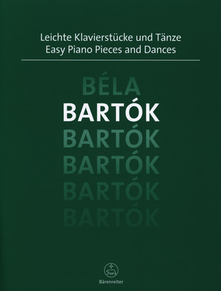 Béla Bartók: Easy Piano Pieces and Dances