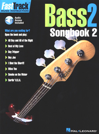 FastTrack Bass 2 – Songbook 2