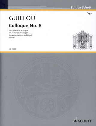 Jean Guillou: Colloque No. 8 op. 67 (2002)