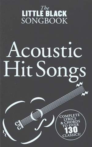 The Little Black Songbook – Acoustic Hits Lc Book