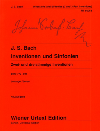 Johann Sebastian Bach: Inventions and Symphonies  BWV 772–801