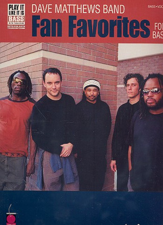 Dave Matthews Band: Dave Matthews Band Fan Favorites Bass Tab