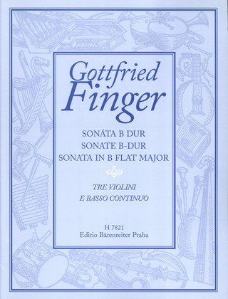 Gottfried Finger: Sonate B-Dur