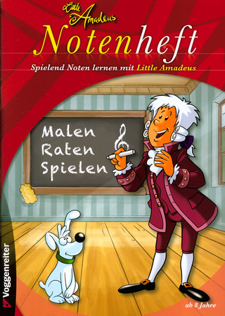 Little Amadeus Notenheft