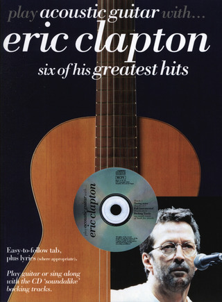 Eric Clapton: Clapton E Play Acoustic Guitar With Bk/Cd