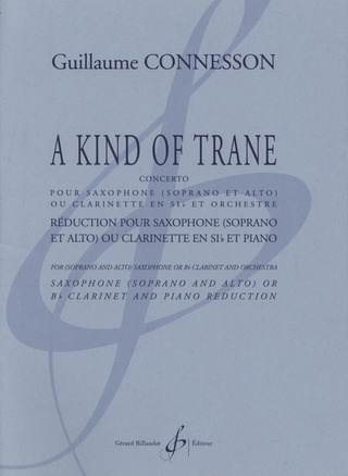 Guillaume Connesson: Kind of Trane