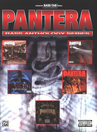 Pantera: Bass Anthology Series