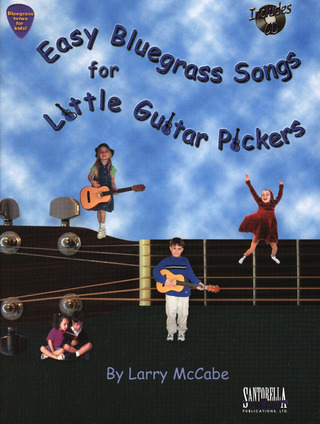 Larry McCabe: Easy Bluegrass Songs For Little Guitar Pickers
