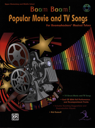 Boom! Boom! Popular Movie & Tv Songs Boomwhackers Musical Tubes Bk/Cd