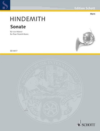 Paul Hindemith: Sonate (1952)