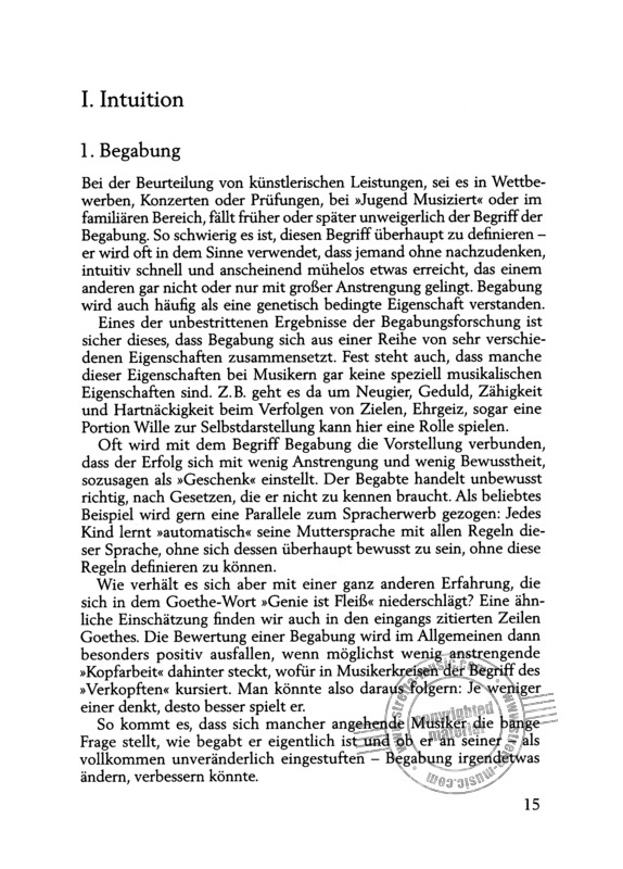 Gerhard Mantel: Interpretation – Vom Text zum Klang (5)