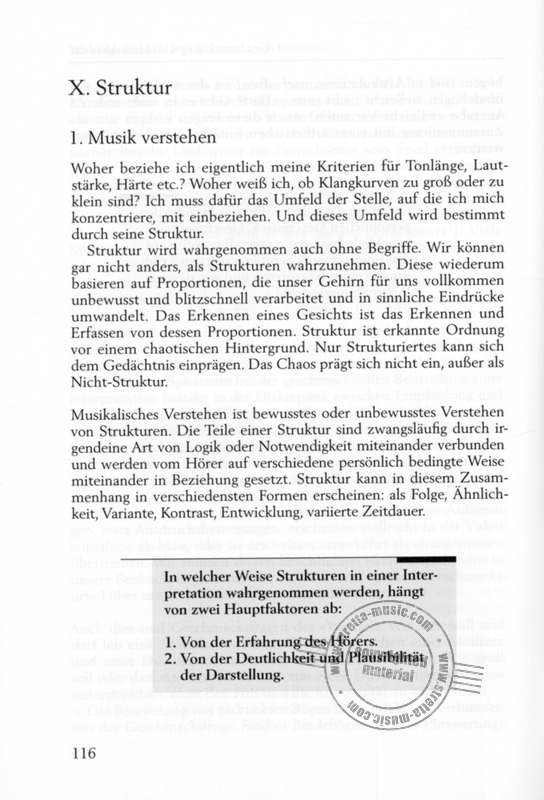 Gerhard Mantel: Interpretation – Vom Text zum Klang (6)