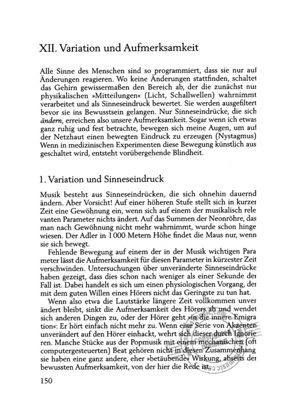 Gerhard Mantel: Interpretation – Vom Text zum Klang (7)