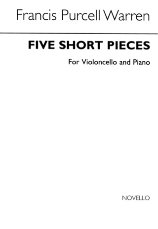 Purcell Warren Francis: Five Short Pieces For Cello And Piano Vlc