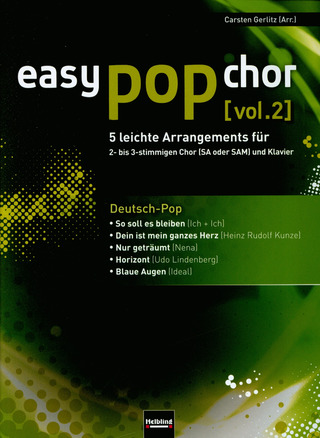 easy pop chor 2: Deutsch-Pop