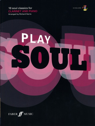 Play Soul (Clarinet) Clt Book/Cd