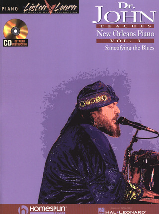 John Dr: Teaches New Orleans Piano 3