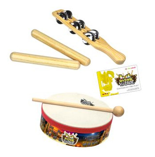 Rhythmic Village – Percussion-Set