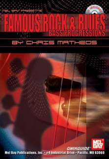 Matheos Chis: Famous Rock + Blues Bass Progressions