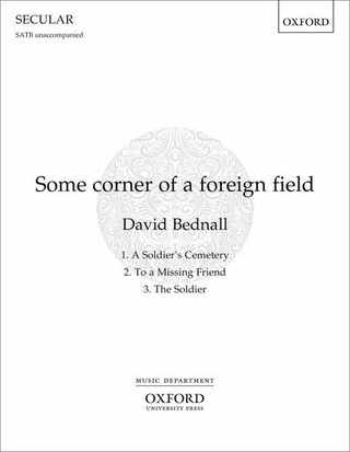 David Bednall: Some corner of a foreign field