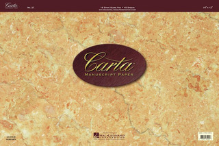 Carta Manuscript Paper No. 27 – Professional